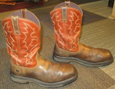 Us Sport Mens 42 5 Wide 10010963 Ariat Sz 5d Brown Toe Square 9 EID2W9HY