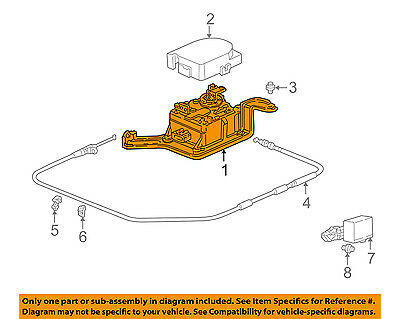 HONDA OEM 02-04 CR-V Cruise Control-Actuator 36511PPAA01 ... on