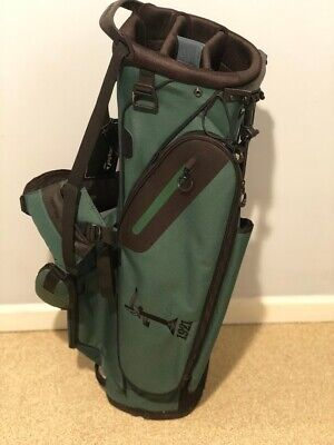 TaylorMade Mens Golf FlexTech Lite Stand Bag Green Naperville Country Club TM17