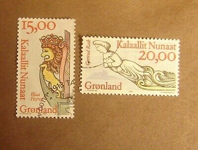Greenland #309-310 Used F-VF Complete