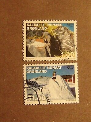 Greenland #394-395 Used F-VF Complete