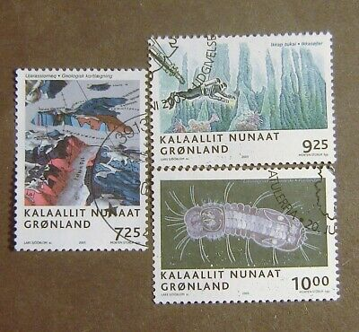Greenland #456-458 Used F-VF Complete