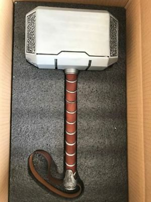 Full Metal Avengers Thor Hammer 1:1 Replica Props Mjolnir Halloween Prop Gifts