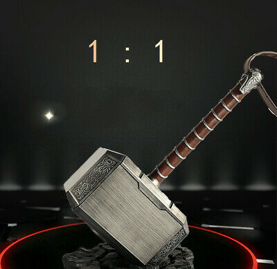 Avengers Endgame Superhero Thor's Hammer 1:1 Scale Model Cosplay Prop Collection