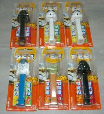 Star Wars Pez x 6 - still sealed 1997