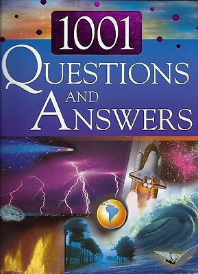 Science Volume of 1001 Questions & Answers 3 Books in 1 Gr 3-6