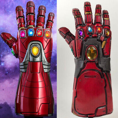 Avengers Endgame Iron Man Infinity Gauntlet Cosplay Thanos Infinite Stone Gloves