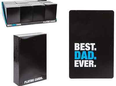 PLAYING CARDS FOR DAD X 6,JUST £1.12 supplied in out sleeve, Excellent!( DG13