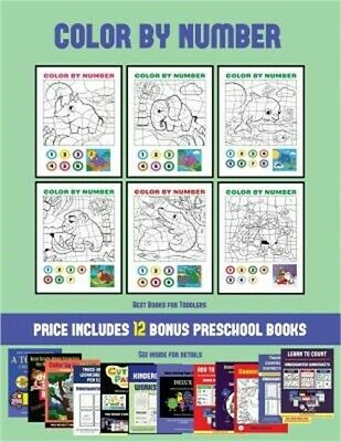 Best Books for Toddlers (Color by Number): 20 printable color by number workshee