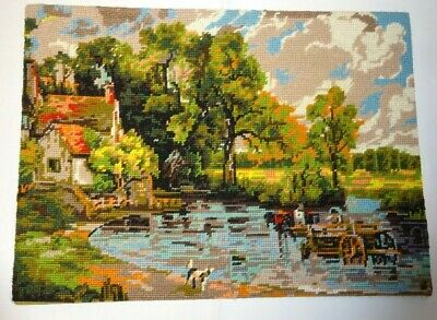 Hand Made Woolen Tapestry Picture - CONSTABLE'S HAYWAIN