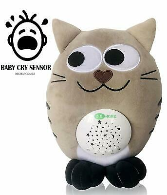 Rechargeable Nursery Shusher, Lullaby & White Noise Sound Machine Sleep Soother