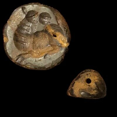 Very Rare Ancient Near Eastern Animal Seal 300 Bc (1)