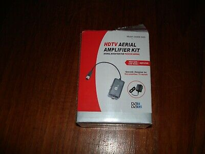 1byone HDTV Aerial Amplifier Kit - Signal Boost For Passive Aerial