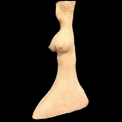 Indus Valley Pottery Fertility Idol Goddess 2000 B.c. Bronze Age (1)