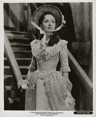 Ann Blyth ~ ORIG 1951 scene portrait... I'll Never Forget You... period costume