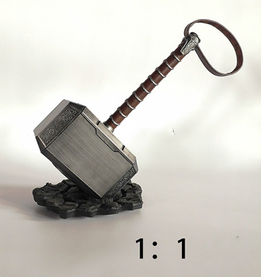 1:1 Scale Thor's Hammer Avengers Endgame Superhero Model Cosplay Prop Collection