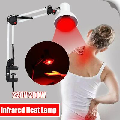 Infrared Heat Lamp Therapeutic Pain Relief Heating Therapy Light  Massage Tool
