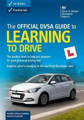 The official DVSA guide to learning to drive 9780115535505 | Brand New