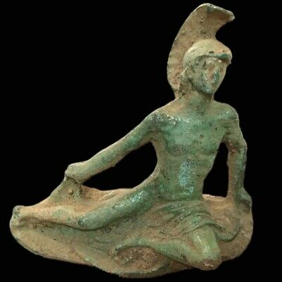 Roman Ancient Bronze Statue- 200-400 Ad (1)