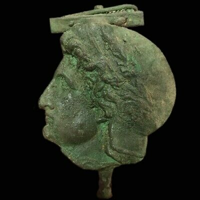 EXTRA LARGE ROMAN ANCIENT BRONZE FIBULA BROOCH- 200-400 AD (2) 11.5 Cm Long