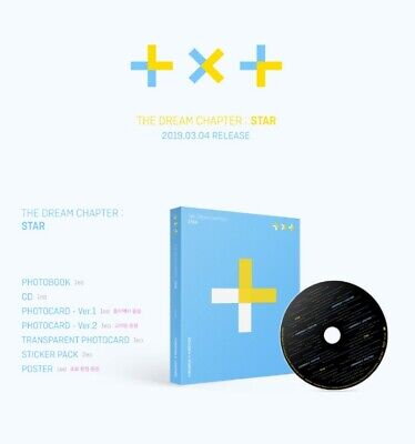 TXT: The Dream Chapter Star* Debut Album* Full Package Poster (CD, Big Hit) KPOP