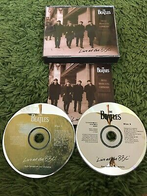 """The Beatles - """"Live at the BBC"""" 2x CD BOX SET WITH BOOKLET IN EX+ 1994 Fat Box"""