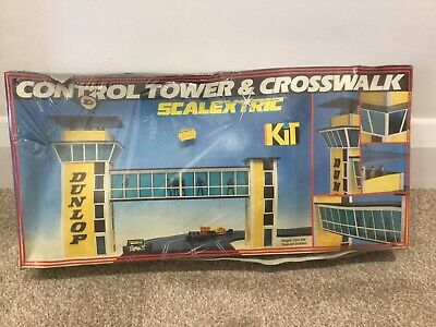 Scalextric Vintage Control Tower & Crosswalk Kit C234 Misb Unopened 1/32