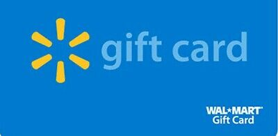 Walmart Gift Card Giftcard $100 Card in Hand New Unscratched GIFT