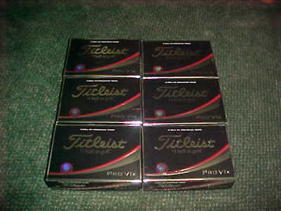 NEW 6 DOZEN (72) 2018 TITLEIST PRO V1x GOLF BALLS, NO EXTRA LOGOS, V1 X. AUCTION