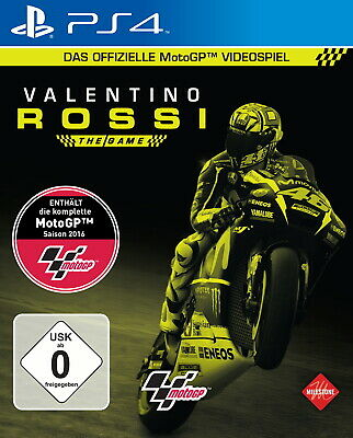 Sony PS4 Playstation 4 Spiel ***** Moto GP 16 Valentino Rossi ***********NEU*NEW