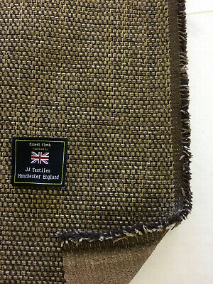 "Natural Ribbed Texture linen Blend /""Grantham/"" Heavy Upholstery Fabric By NEXT"