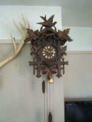 Antique Black Forest  Cuckoo Clock from Germany