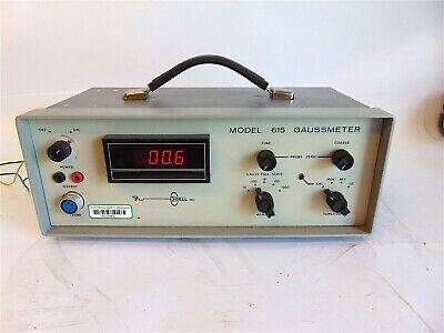F.W. Bell Inc. Gauss meter Model 615/488  S4105