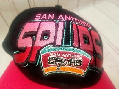 timeless design 94788 cee24 NWT New Era 9Fifty HWC San Antonio Spurs Pink Black Snapback Hat, OSFM