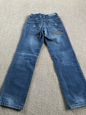 O'NEILL Boys Jeans Size 152 (Aged 12) Straight Leg Immaculate Condition
