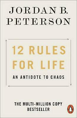12 Rules for Life: An Antidote to Chaos by Jordan B. Peterson Paperback Book Fre