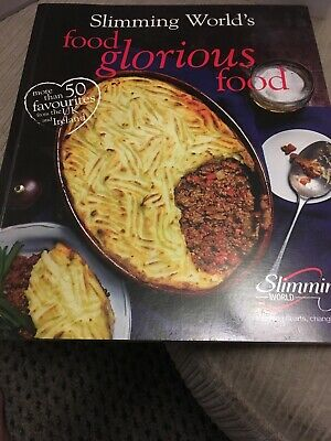 Slimming World Food Glorious Food Recipe Book Used but good condition
