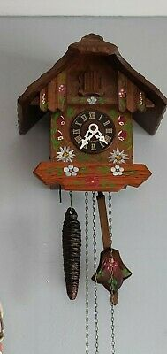 Cuckoo Clock - Original Black Forest - 'Regula' Movement - Working