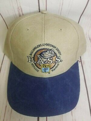 BASS Anglers Sportsman Society Official Member Hat Cap Fishing Fish B.A.S.S.