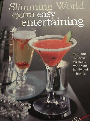 Slimming World Book EXTRA EASY ENTERTAINING 100 Recipes cookery book
