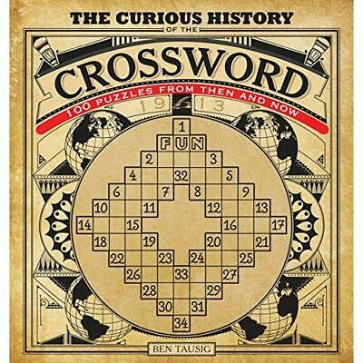 Curious History of the Crossword: 100 Puzzles from Then - Paperback NEW Ben Taus