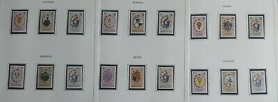 Lot of British Commonwealth 1981 Royal Wedding Issue MNH-----