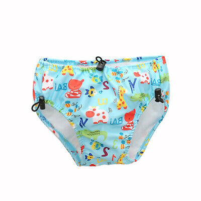 Baby & Toddler Swim Diapers Lace-up Adjustable Waterproof Leakage-proof O2A7