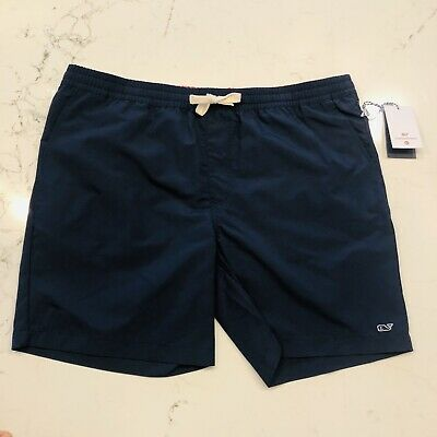 841163973ead2 Vineyard Vines Target Mens Swim Trunks Shorts Bathing Suit Navy Blue L SOLD  OUT
