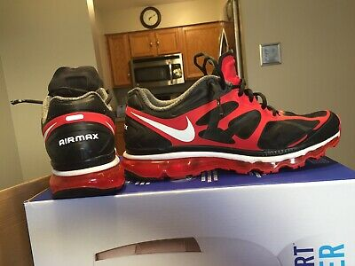 newest 02efc fee17 2011 nike air max + shoes. size 11