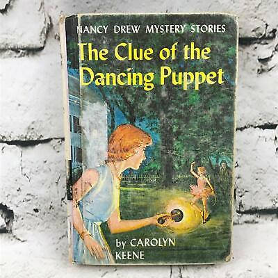 The Clue Of The Dancing Puppet A Nancy Drew Mystery By Carolyn Keene VTG 1962