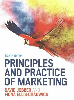 Principles and Practice of Marketing by David Jobber 9780077174149 | Brand New