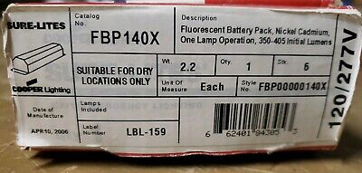 Sure-Lites Fbp140X Exit/Emergency Lighting Battery Pack 1Z-1681-D16