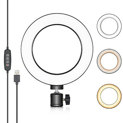 Neewer LED Ring Light 6-inch for YouTube Video Live Streaming Makeup Selfie