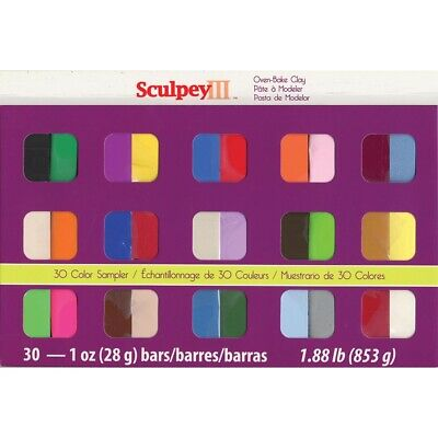 Sculpey III Oven-Bake Clay 30 Color Set  - 30 Colors